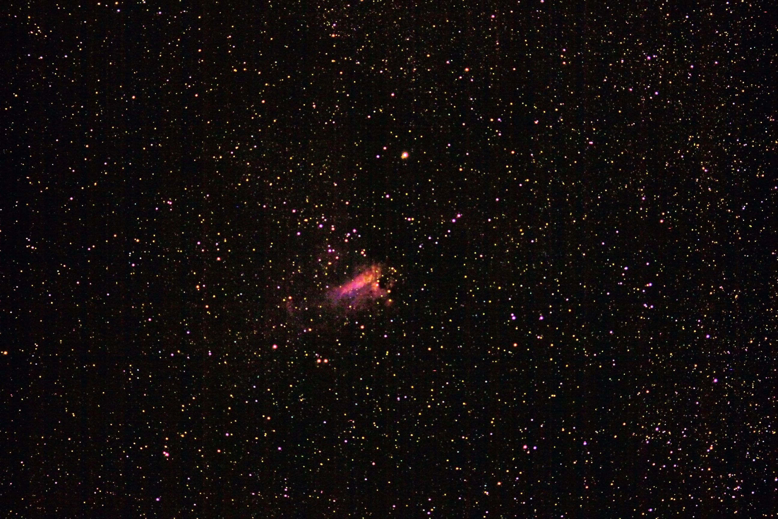 The Lobster Nebula
