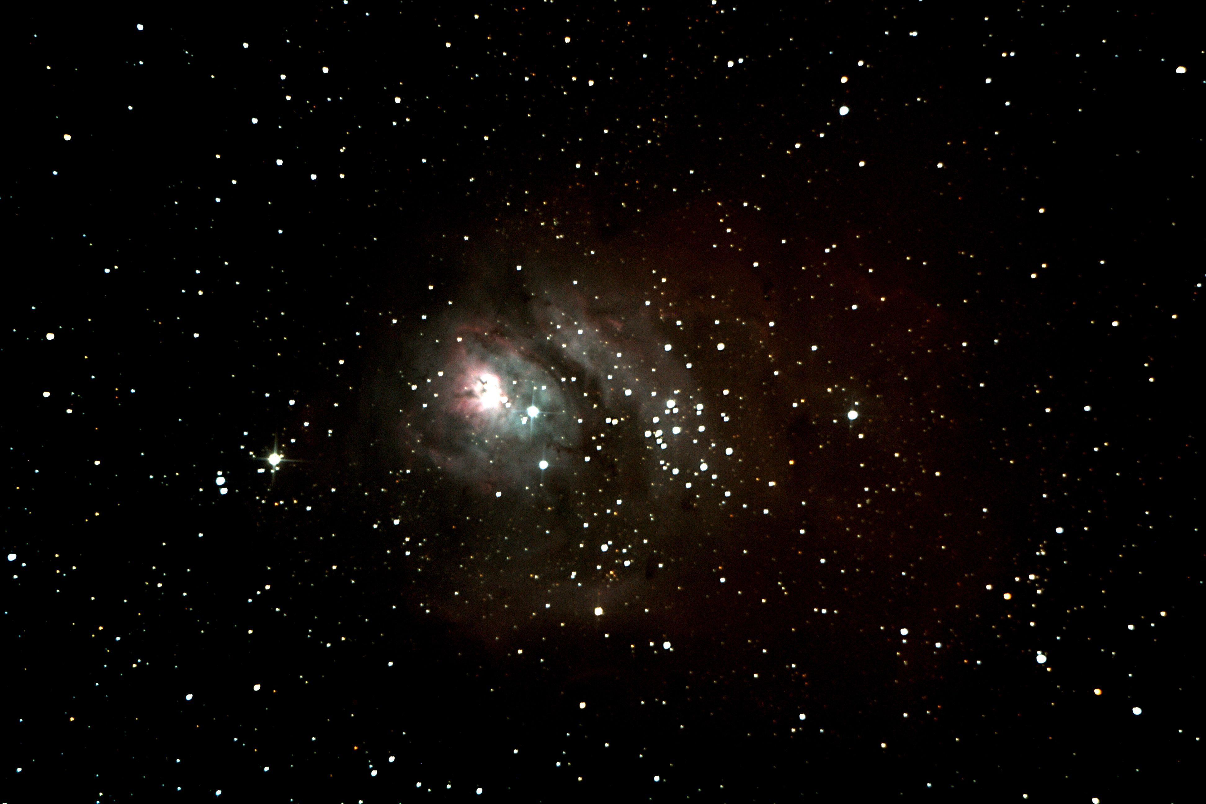 omega nebula 8 inch telescope - HD3888×2592