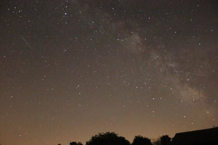 Milky Way, Shooting Stars
