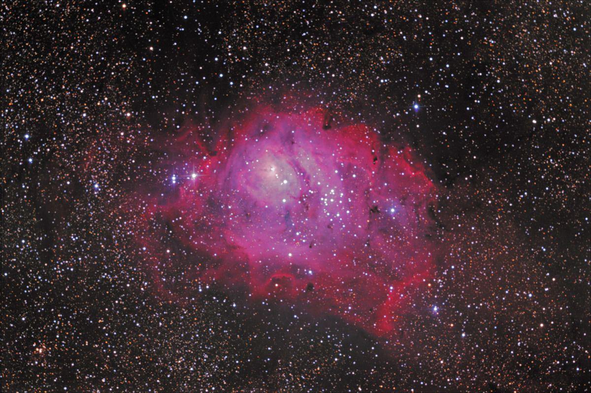 M8 - Lagoon Nebula 6-8-13 at Orion Store