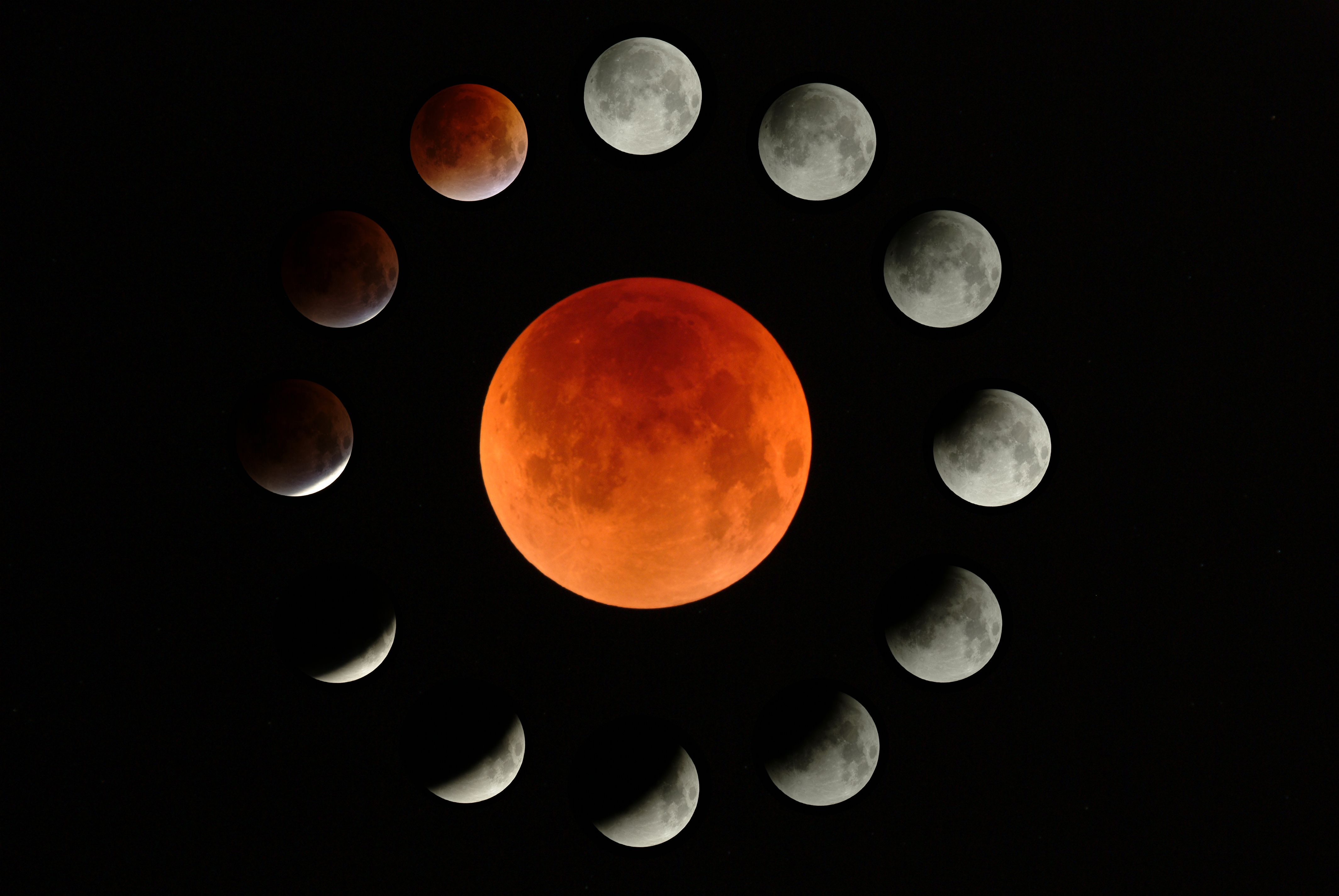 Total Lunar Eclipse at Orion Store