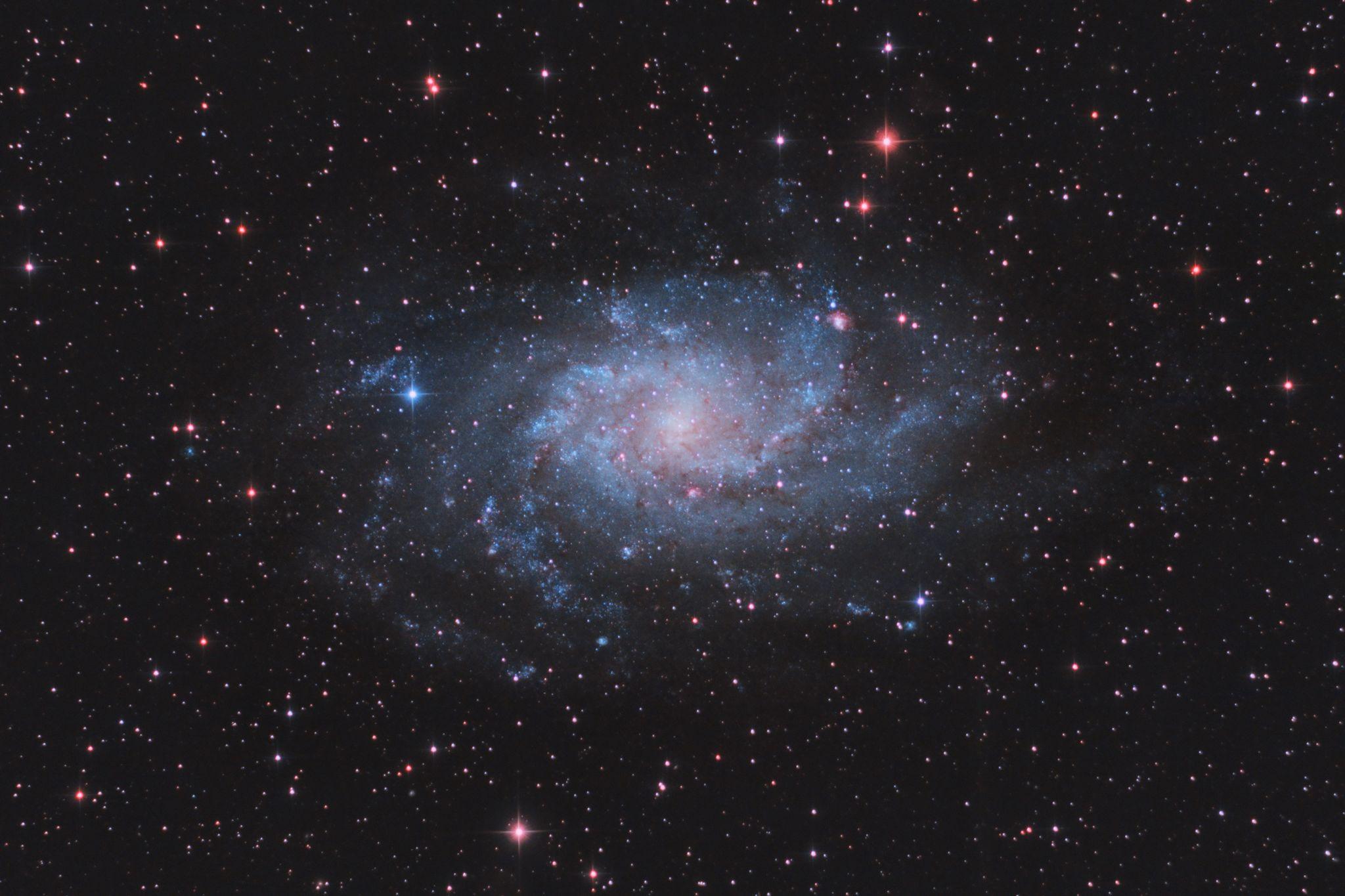 M33 The Triangulum Galaxy (