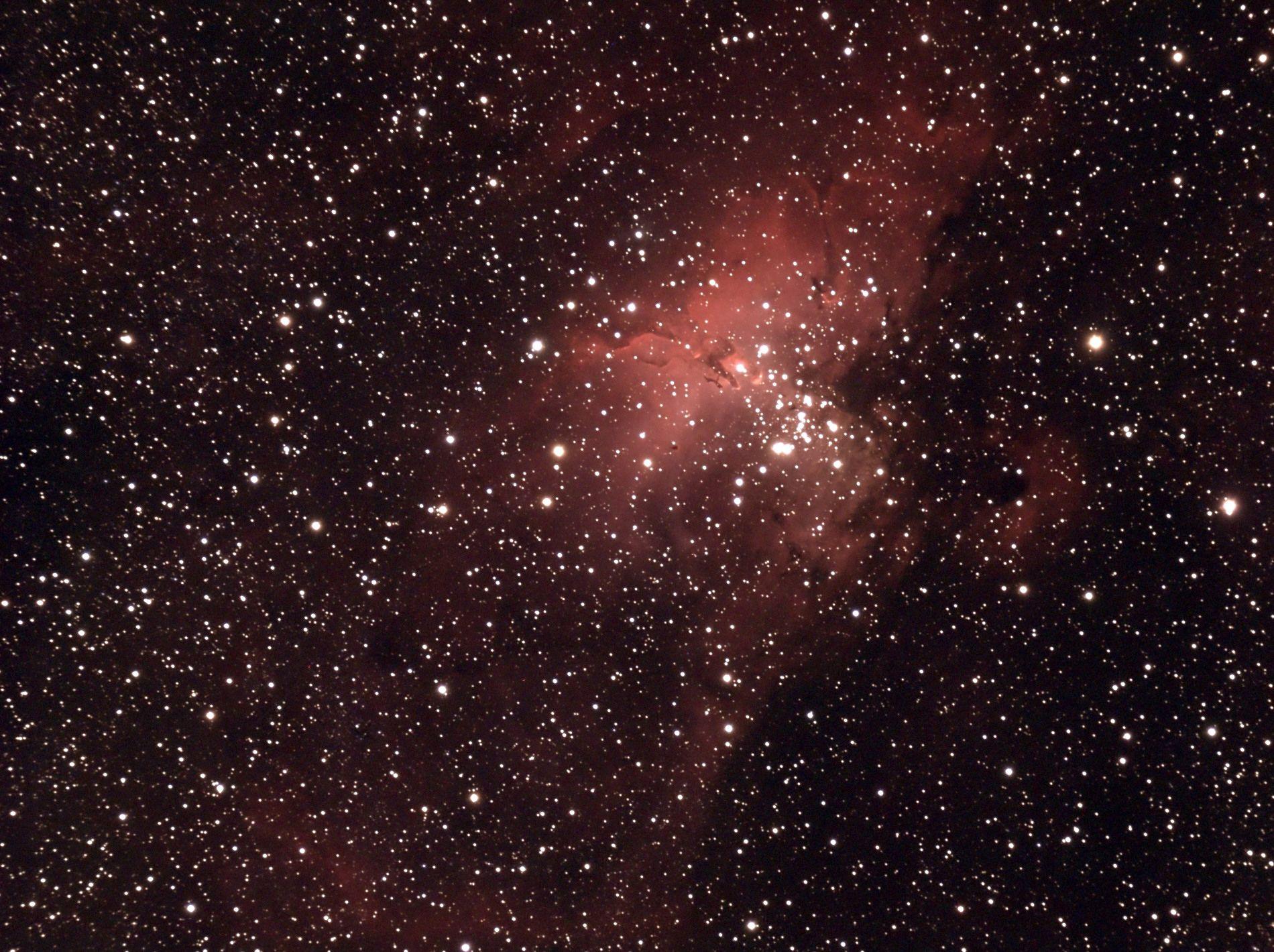 m16 Eagle Nebula 9-23-13
