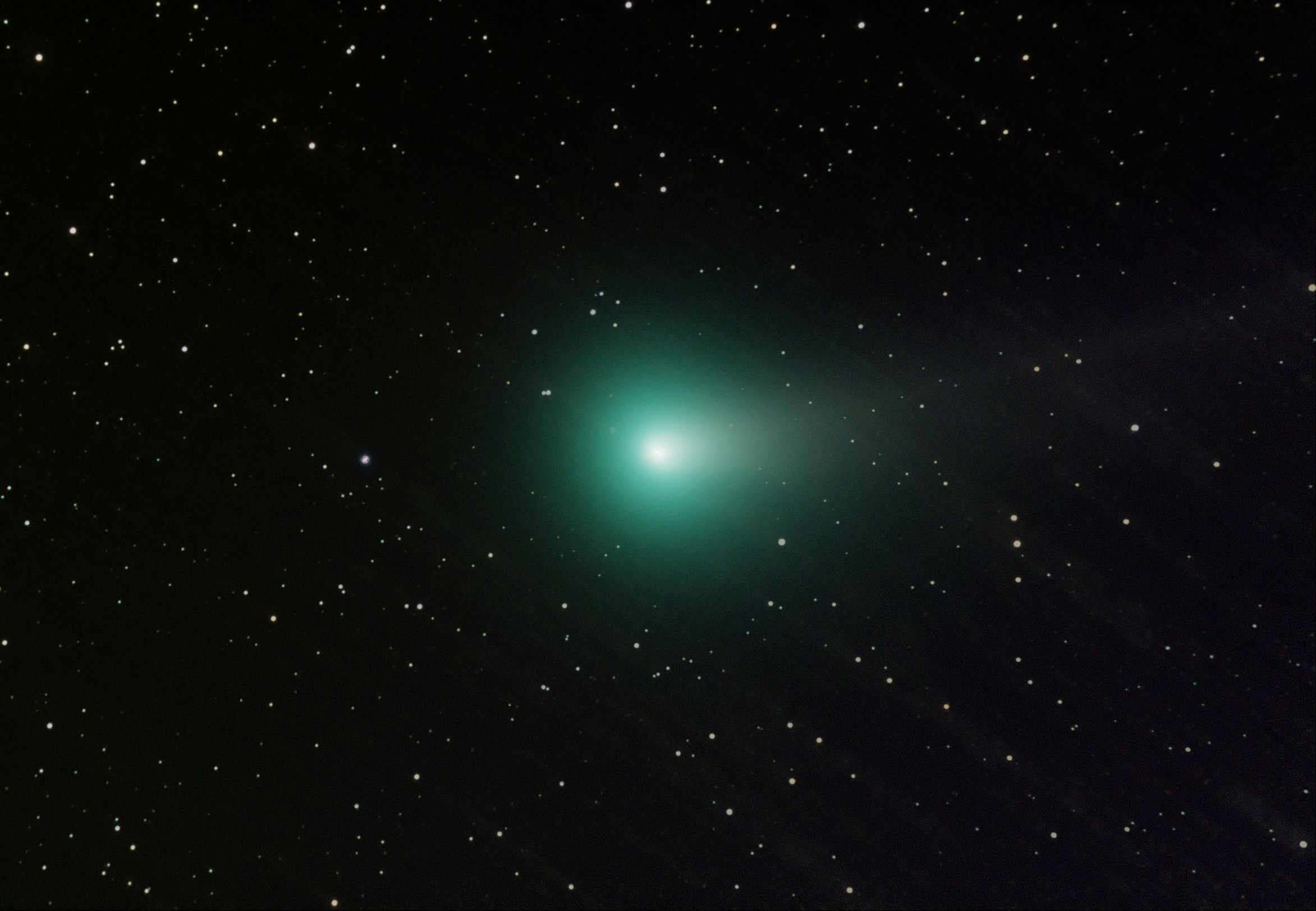 Comet Lovejoy 11-3-13 at US Store