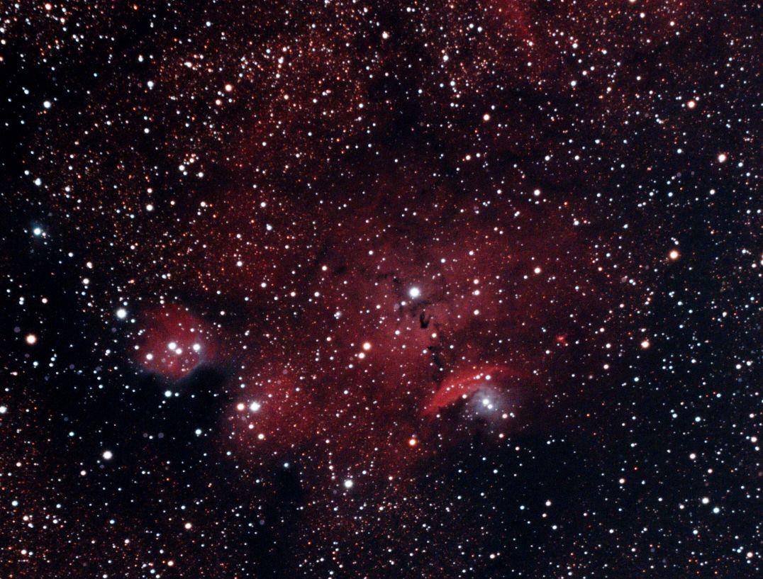 NGC 6559 Nebula