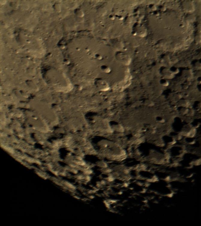 Clavius Crater Panorama