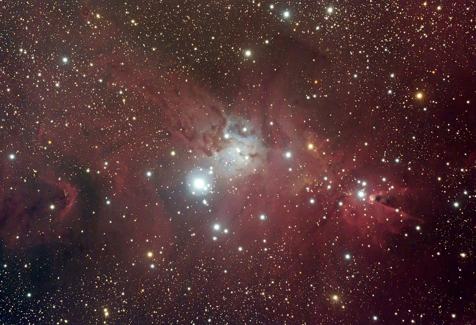 NGC 2264 - Nebula Complex in Monoceros