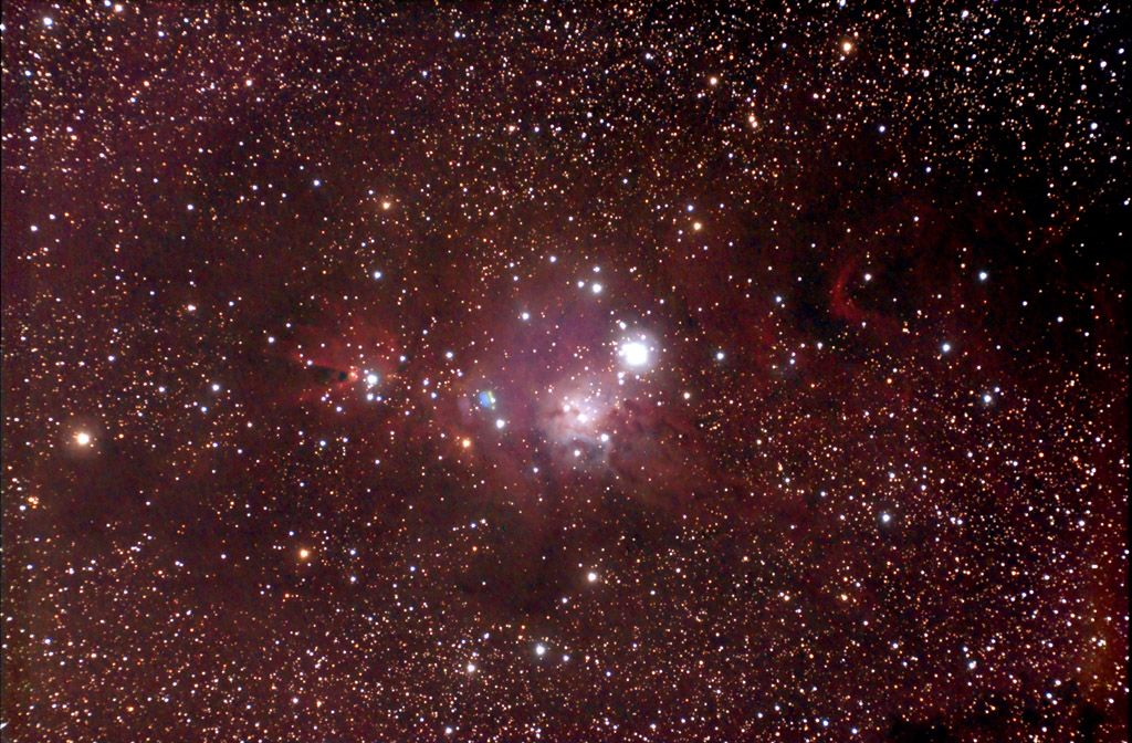 NGC 2264 - The Christmas Tree Cluster & Cone Nebula