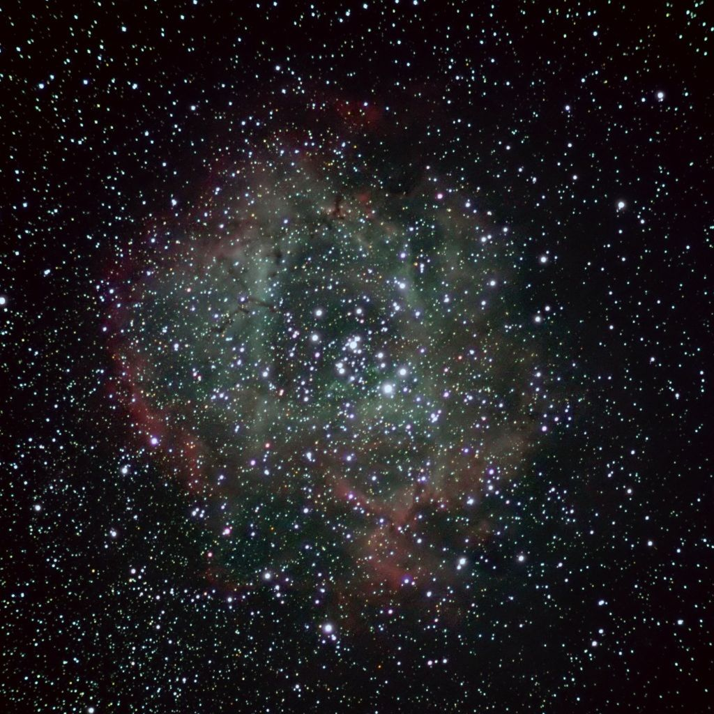 Caldwell 49, The Rosette Nebula