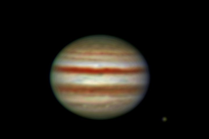 Jupiter with Europa