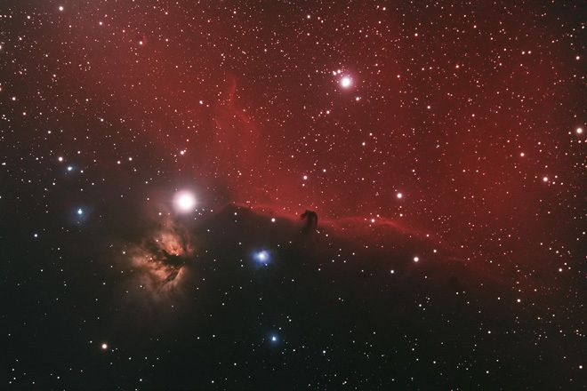 Barnard 33 the Horsehead Nebula at Orion Store