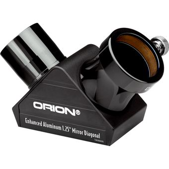 "Orion 1.25"" Enhanced Mirror Star Telescope Diagonal"