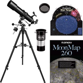 Orion BX90 EQ 90mm Refractor Telescope Kit