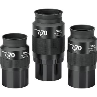 26mm 32mm 38mm Set of Orion Q70 Eyepieces