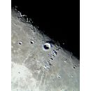 Copernicus crater and Carpathian mountains