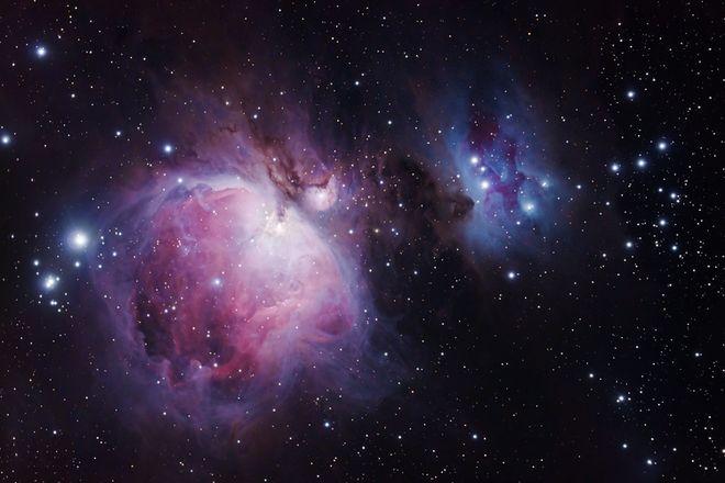 Orion Nebula M42, M43 and NGC 1977
