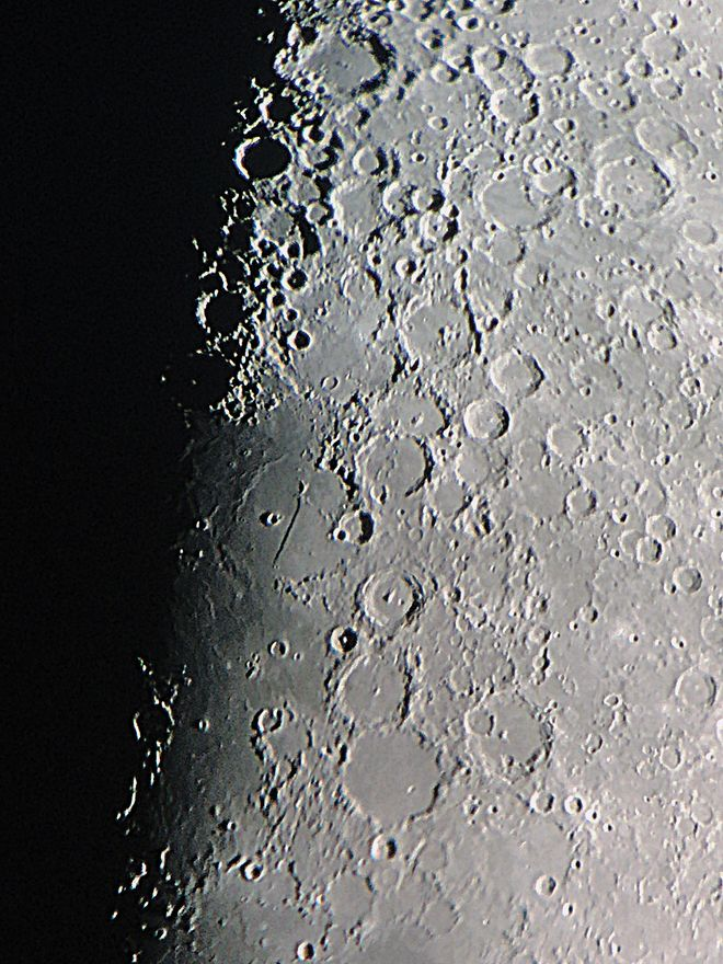 Lunar Terminator with SteadyPix Quick