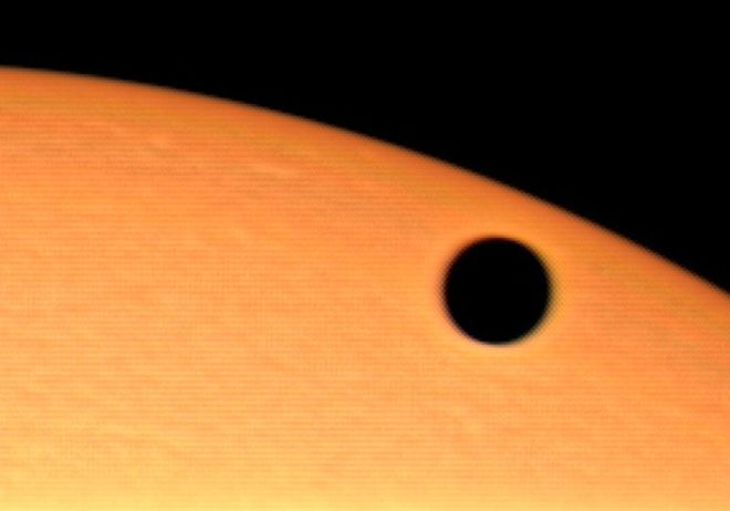 Venus Transit Close-Up