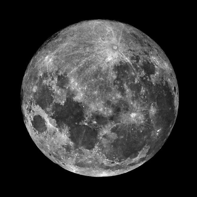 A Very Full Moon