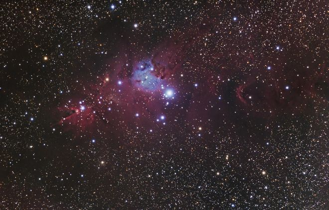 Christmas Tree Cluster or NGC 2264 at US Store