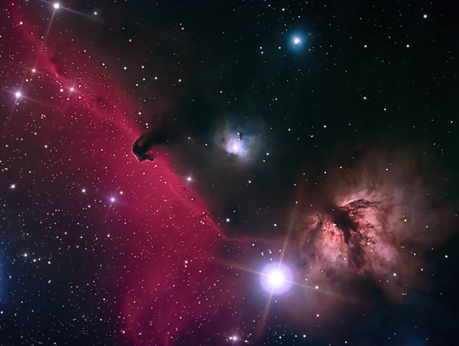 Barnard 33 The Horsehead Nebula at US Store