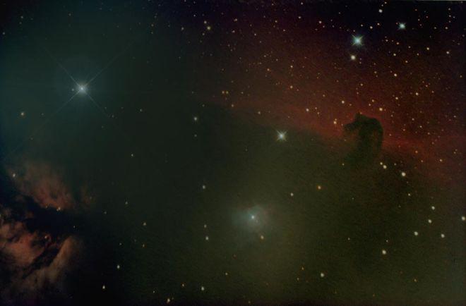 NGC 2024 & IC 434- The Flame and Horsehead