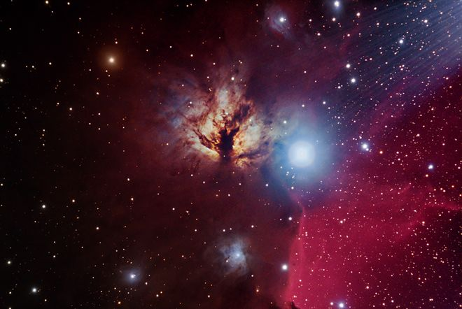 NGC 2024 Flame Nebula in Orion