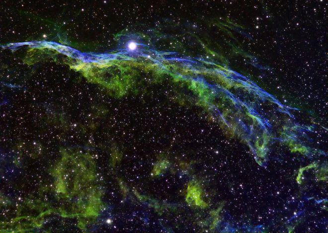 NGC 6960 - Veil Nebula (Reprocessed )