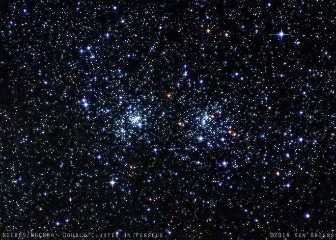 Double Cluster in Perseus 1-18-14 at US Store