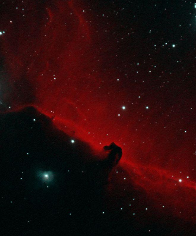 Horsehead Nebula in Narrowband
