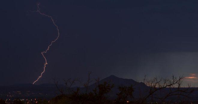 Picacho Peak Lightning at US Store