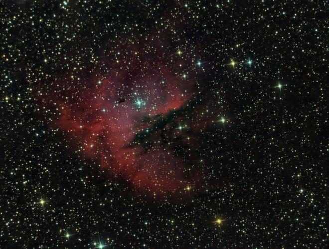 NGC 281 Pacman