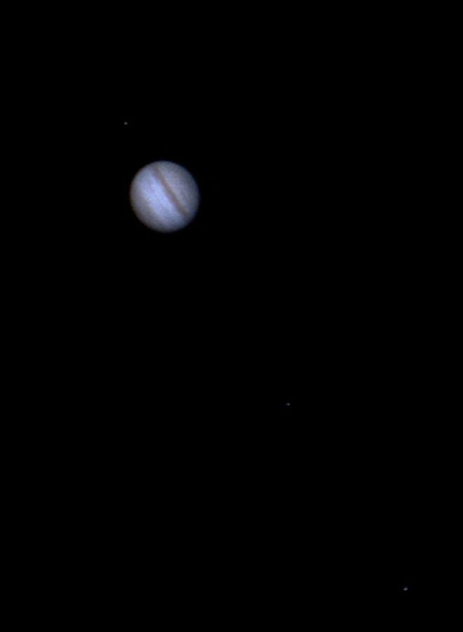 Jupiter & 3 Moons