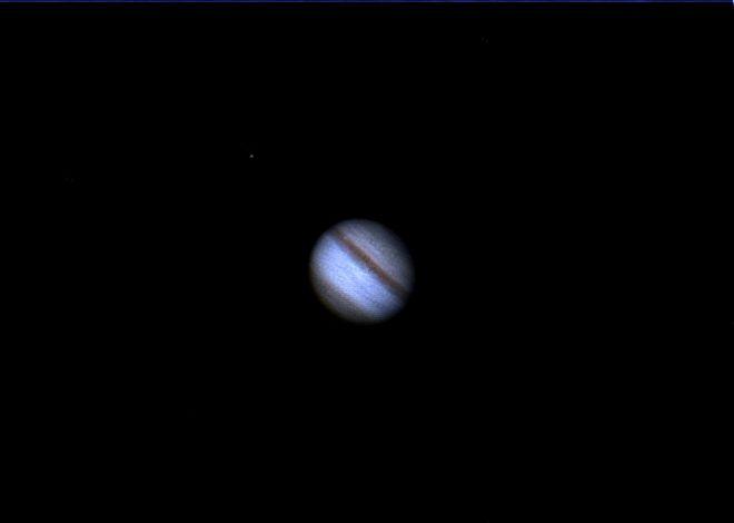 Jupiter & IO Moon
