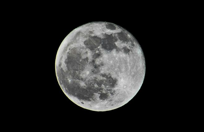 Full Moon before The Solstice Lunar Eclipse