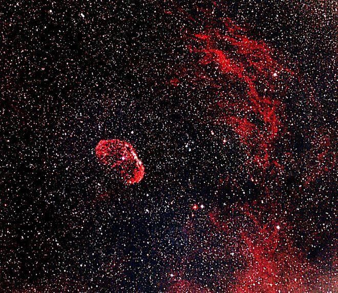 NGC 6888 - The Crescent Nebula