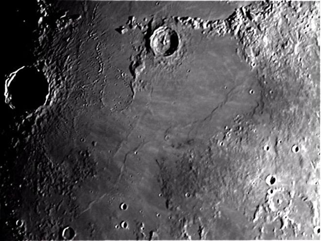 Copernicus Crater with Terminator