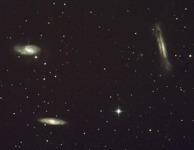 M65, M66, NGC 3628 - The Leo Triplet
