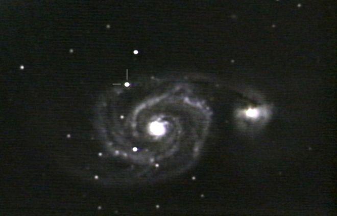 M51 with SuperNova